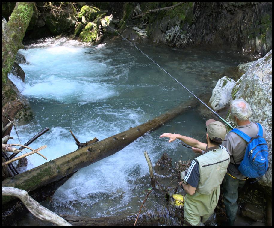 pêche au toc en Haute-Savoie