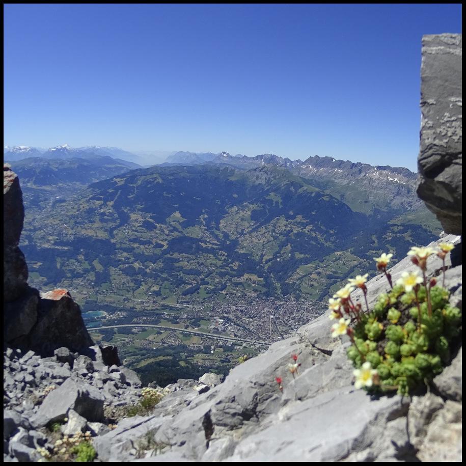 vue sur la vallée de l'Arve